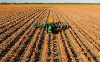 Zero Till Parallelogram Double Disc Sorghum/Cotton Planter