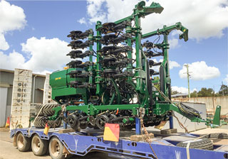 7 Metre 2 Point Linkage Planter