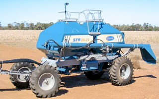 Excel Agriculture's Gyral STR - Rear Trailing Air Seeder,