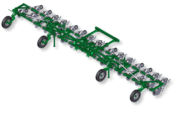 3 point linkage folding frame to suit single disc.